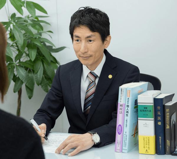 堺太陽法律事務所弁護士相談風景